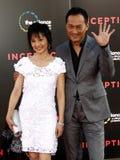 Kaho Minami et Ken Watanabe Photo libre de droits
