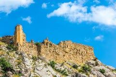 Kahta slott, Adiyaman, Turkiet Royaltyfri Fotografi