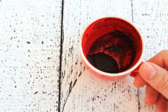 Kahve Falı, fortune de café Photos stock