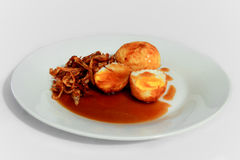 kai Blick koey thailändisches Lebensmittel Stockfotos