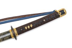 `Kai Gunto` : Japanese Marine Sword From World War 2 royalty free stock images