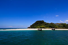 Kai Island between Lipe and Tarutoa Royalty Free Stock Photos
