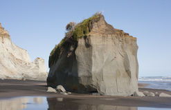 Kai Iwi plaża, Wanganui Zdjęcie Stock