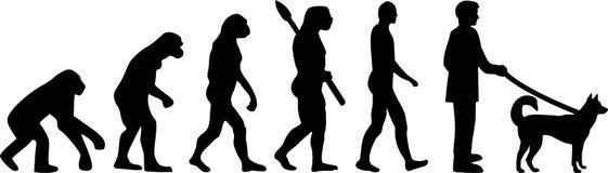 Kai Ken ewolucja royalty ilustracja