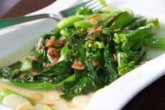 Kai lan-Gemüse Lizenzfreies Stockfoto