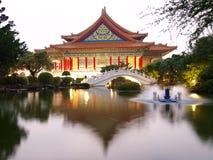 Kai shek herdenkingshal van Chiang Stock Afbeeldingen