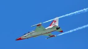 KAI T/A-50 goldener Adler in Singapur Airshow Lizenzfreie Stockfotografie