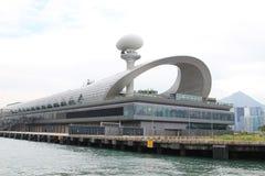 Kai Tak Cruise Terminal à la ville de Kowloon photographie stock libre de droits