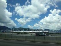 Kai Tak Cruise Terminal Fotografia Stock Libera da Diritti