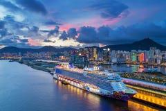 Kai Tak Cruise Terminal Fotografie Stock