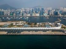 Kai Tak Cruise Terminal of Hong Kong Stock Photos