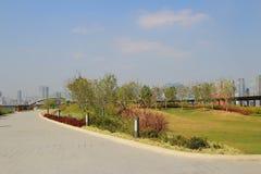 Kai tak cruise terminal park Stock Photo