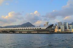 Kai Tak Cruise Terminal wordt geopend bij de plaats Royalty-vrije Stock Foto's
