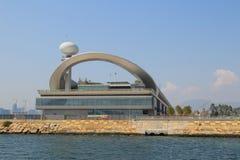 Kai Tak Cruise Terminal wordt geopend bij de plaats van vroegere Kai Royalty-vrije Stock Fotografie