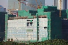 Kai Tak Runway at new development Royalty Free Stock Images