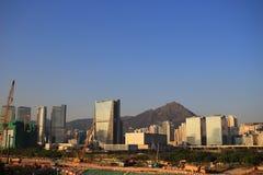 Kai Tak Runway at new development place Stock Photos