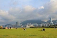 Kai Tak Runway Park Stock Image