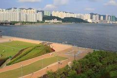 Kai Tak Runway Park Royalty Free Stock Image
