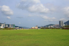 Kai Tak Runway Park Royalty Free Stock Photos