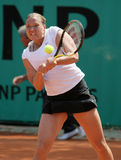 Kaia KANEPI (EST) at Roland Garros 2010 Stock Photography