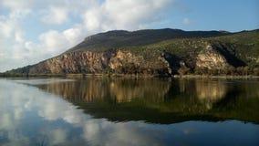 Kaiafas湖 库存图片