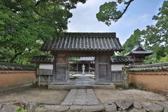 Kaidan binnen in Fukuoka, Japan royalty-vrije stock afbeeldingen