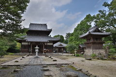 Kaidan dentro em Fukuoka, Japão Fotografia de Stock Royalty Free