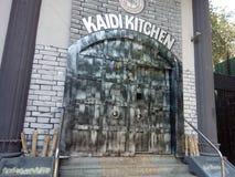 Kaidi-Küchenhotel in Chennai Indien Lizenzfreie Stockfotografie
