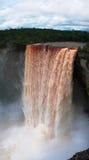 Kaieteur瀑布,其中一个最高的秋天在世界上, potaro河,圭亚那 免版税图库摄影