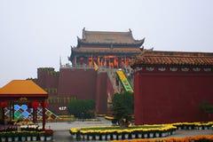 Kaifeng Dragon Pavilion Scenic Area imagem de stock