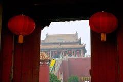 Kaifeng Dragon Pavilion Scenic Area fotografía de archivo