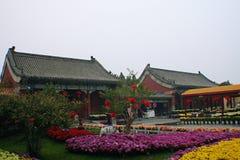 Kaifeng Dragon Pavilion Scenic Area imagenes de archivo