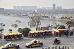 Kaifeng, Henan, Κίνα Στοκ φωτογραφία με δικαίωμα ελεύθερης χρήσης