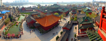 Kaifeng, Henan, Κίνα Στοκ Φωτογραφίες