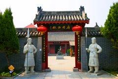 Kaifeng Henan, porslin arkivbild