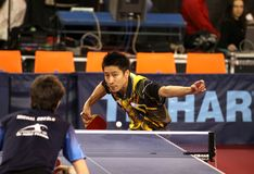Kaii Yoshida - table tennis Stock Photo