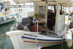 Kaiki, Greek fishing boat Royalty Free Stock Images
