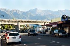 KAIKOURA,新西兰- 2011年4月3日: 免版税库存照片