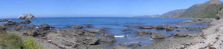 Kaikoura. New zealand south island Stock Photo