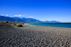 Kaikoura Beach, New Zealand Stock Photography