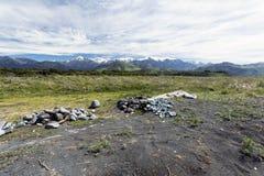 Kaikoura berg Arkivfoton