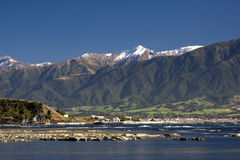 Kaikoura coast Royalty Free Stock Image