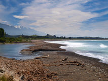 Kaikoura coast Stock Photo