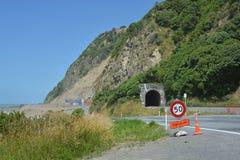 Kaikoura - el punto de Ohau abre un año después del terremoto Imagenes de archivo