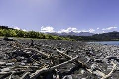 Kaikoura Küste Stockfoto