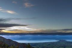 Kaikoura krajobraz obrazy royalty free