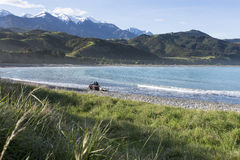 Kaikoura Mountains Stock Photography