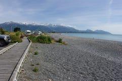 Kaikoura Neuseeland lizenzfreie stockbilder
