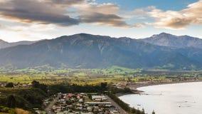 Kaikoura Nya Zeeland Arkivbilder
