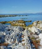 Kaikoura Peninsula Raised 1.25 metres by gigantic Earthquake Royalty Free Stock Image